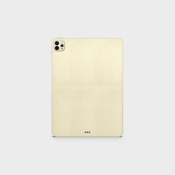 """GREEN MNKY Backcover Skin Tablet 11"""" (Struktur Serie) """"Leder White"""" [3 Stück]"""