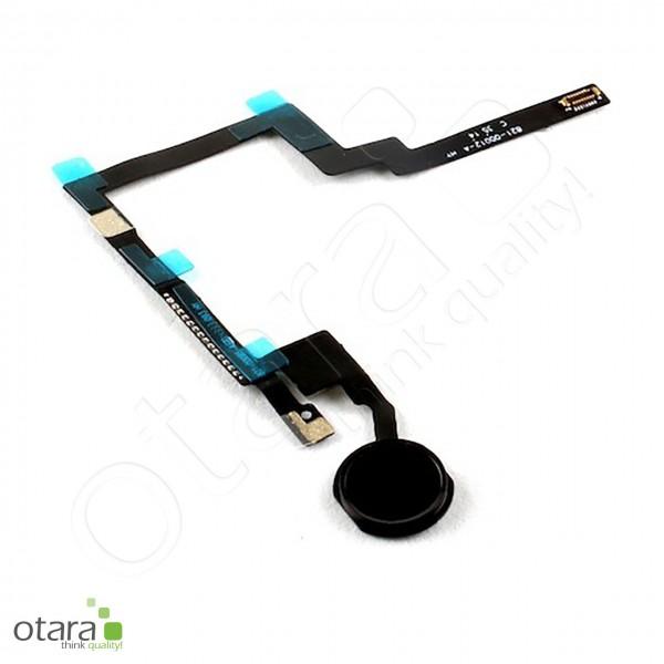 Home Button +Flex geeignet für iPad mini 3 (2014) A1599/A1600, schwarz