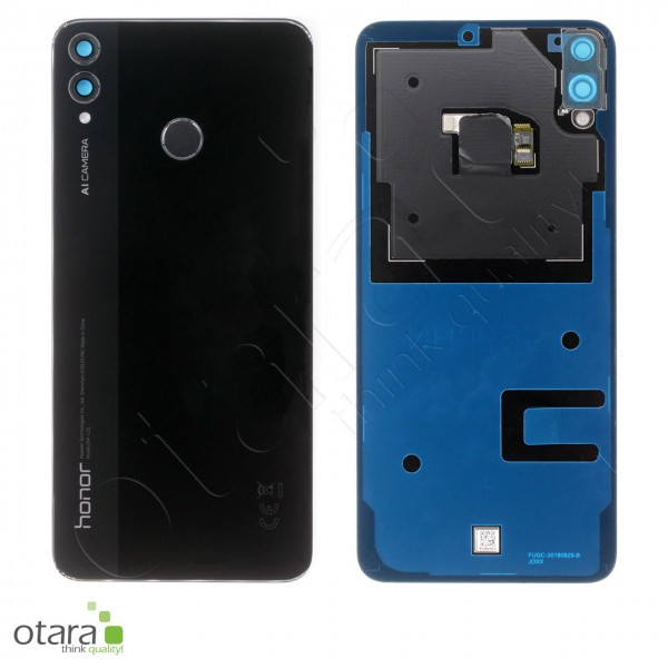 Akkudeckel Huawei Honor 8X, black, Serviceware