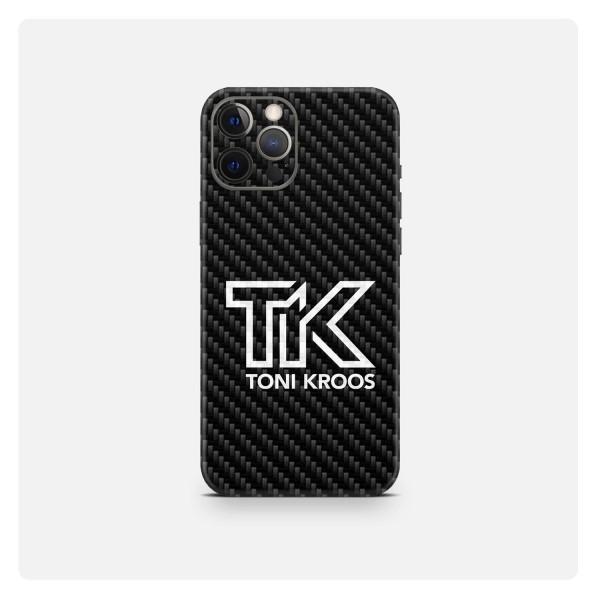 "GREEN MNKY Backcover Skin Smartphone 7"" (Toni Kroos Kollektion) ""TK Black Carbon"" [3 Stück]"