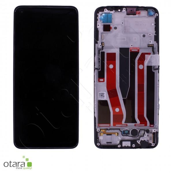 Displayeinheit OPPO A94 5G, A95 5G, fluid black, Serviceware