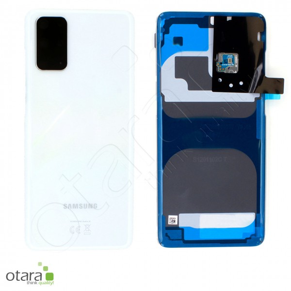 Akkudeckel Samsung Galaxy S20 Plus (G985F|G986B), cosmic white, Serviceware