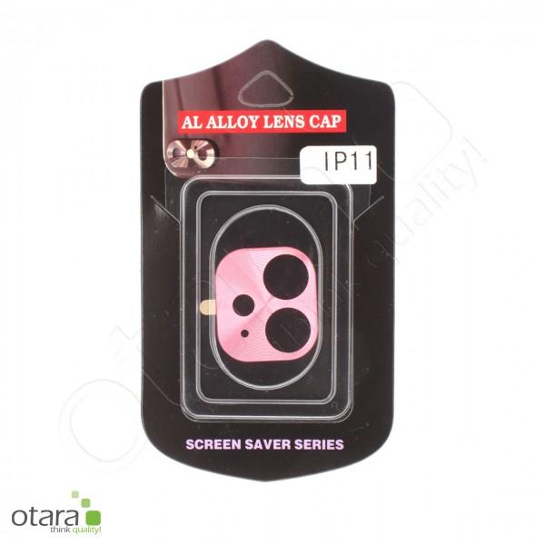 Aluminium Schutz für Hauptkamera iPhone 11, rosa (mit Retail Verpackung)