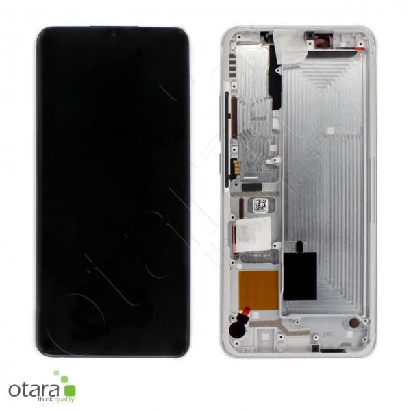 Displayeinheit XIAOMI Mi Note 10/10 Pro (M1910F4G,M1910F4S), Glacier White, Serviceware