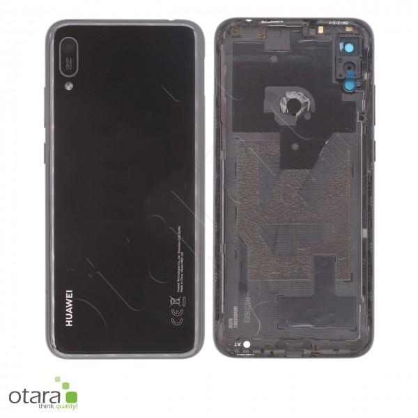 Akkudeckel Huawei Y6 2019, midnight black, Serviceware