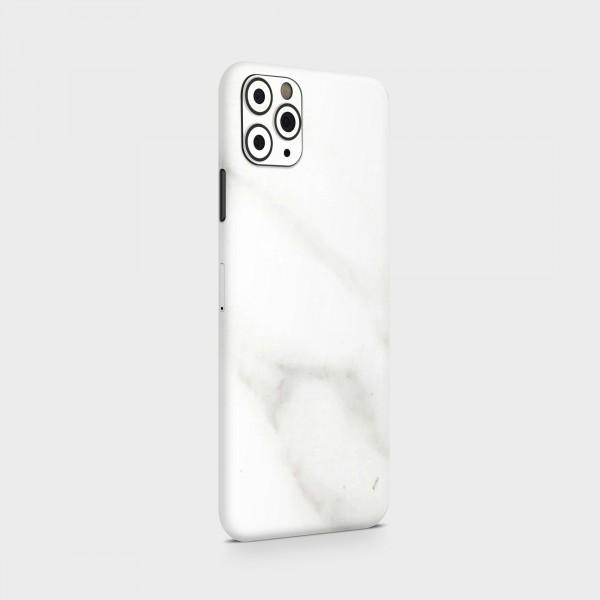 """GREEN MNKY Backcover Skin Smartphone 7"""" (Struktur Serie) """"Marmoroptik White/Grey"""" [3 Stück]"""