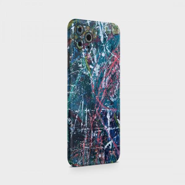 "GREEN MNKY Backcover Skin Smartphone 7"" (Struktur Serie) ""Crazy Painter"" [3 Stück]"