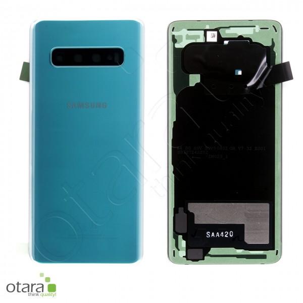 Akkudeckel Samsung Galaxy S10 (G973F), Prism Green, Serviceware