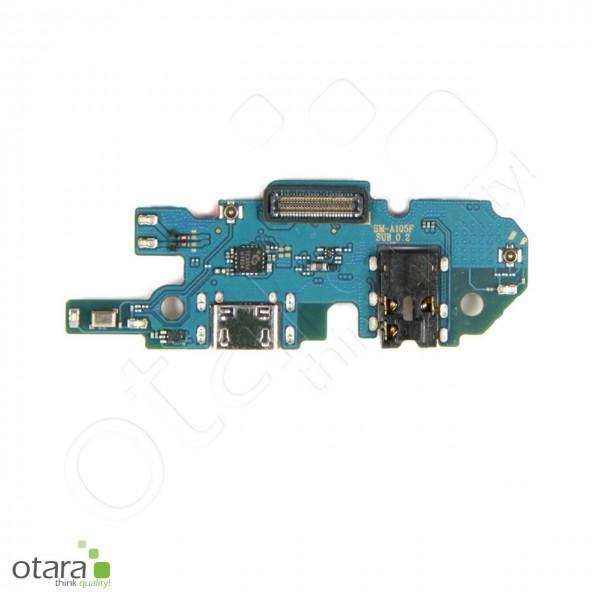 Samsung Galaxy A10 (A105F) Ladebuchse Platine mit Micro USB, Mikrofon, Audio Jack, Serviceware