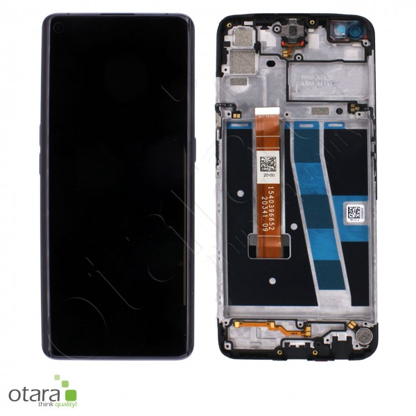 Displayeinheit OPPO A72/A92 4G, twilight black, Serviceware