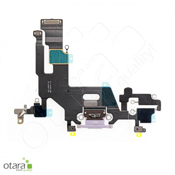 Lade Dock Connector Flex geeignet für iPhone 11 (Ori/pulled Qualität), violett