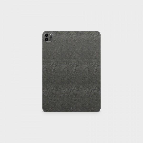 """GREEN MNKY Backcover Skin Tablet 11"""" (Struktur Serie) """"Platin Grey"""" [3 Stück]"""