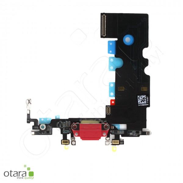 Lade Konnektor Flexkabel inkl. Mikrofon geeignet für iPhone 8, SE2 (Ori/pulled Qualität), rot