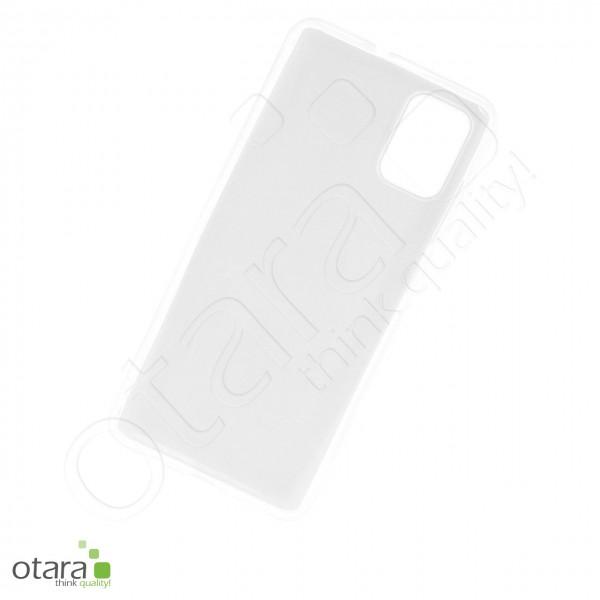 Silikoncase/Schutzhülle für Samsung Galaxy A51 (A515), transparent