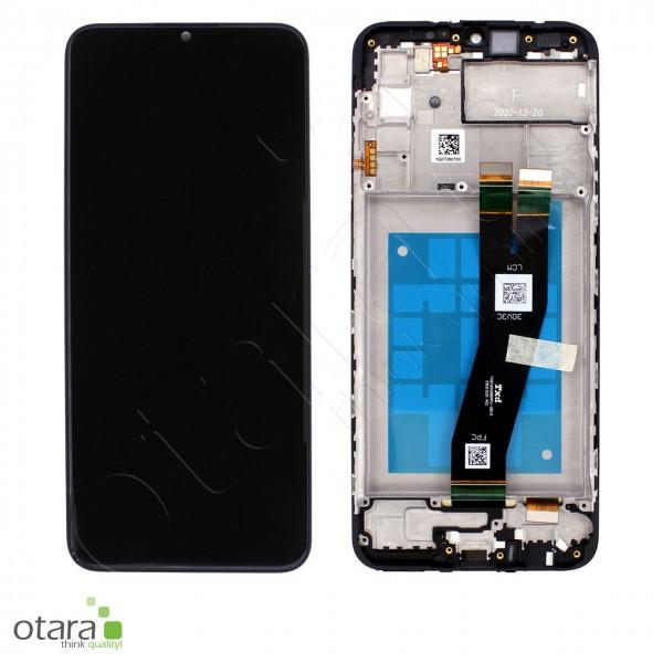 Displayeinheit Samsung Galaxy A02s (A025G), black, Serviceware