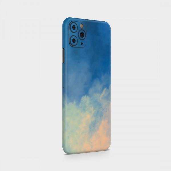 "GREEN MNKY Backcover Skin Smartphone 7"" (Design Serie) ""Sunset Clouds"" [3 Stück]"