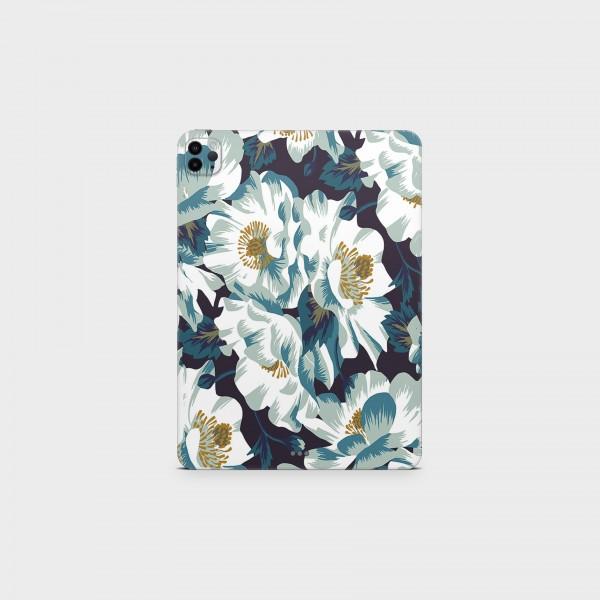 "GREEN MNKY Backcover Skin Tablet 11"" (Design Serie) ""Summer Flowers"" [3 Stück]"