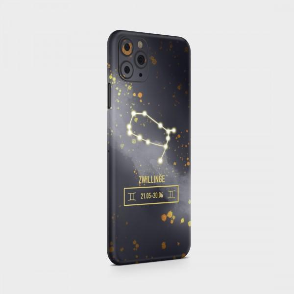 "GREEN MNKY Backcover Skin Smartphone 7"" (Zodiac Serie) ""Zwillinge Zodiac"" [3 Stück]"
