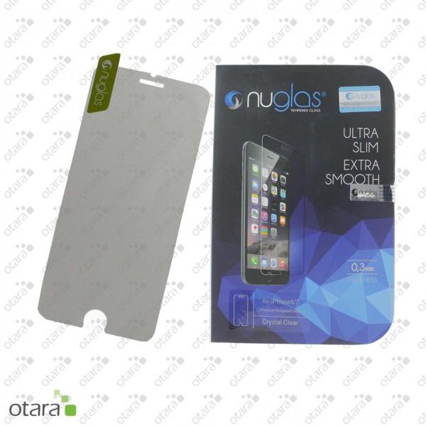 Schutzglas Nuglas (extra dünn 0,3 mm) für iPhone SE2 (mit Verpackung)