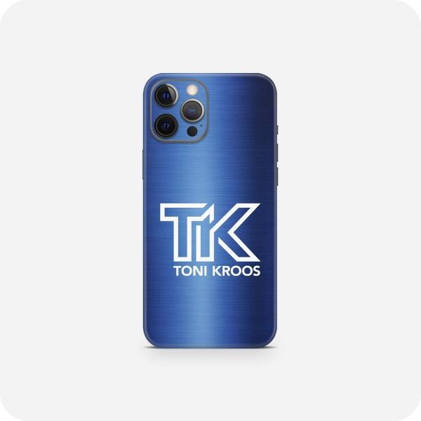 "GREEN MNKY Backcover Skin Smartphone 7"" (Toni Kroos Kollektion) ""TK Metallic Blue"" [3 Stück]"