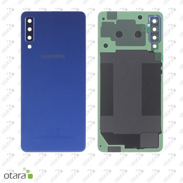 Akkudeckel Samsung Galaxy A7 2018 (A750F), Blue, Serviceware