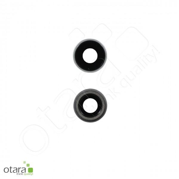 Kameraglas Linse (mit Rahmen) geeignet für iPhone XR, weiß