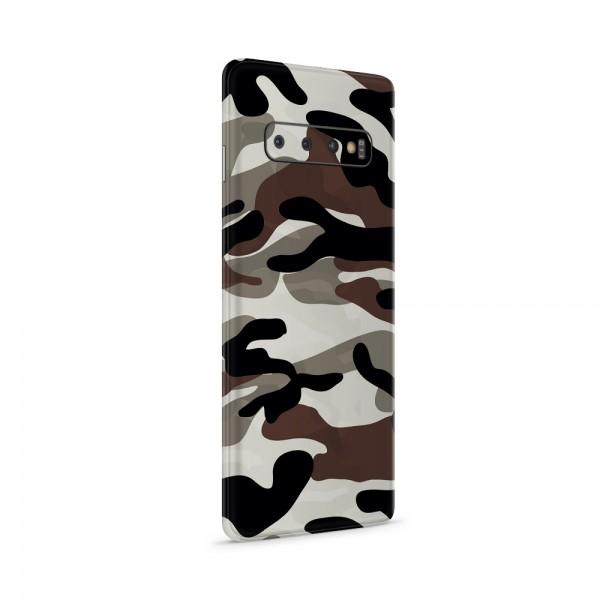 "GREEN MNKY Backcoverfolie Backfilm Design ""Camouflage Black/White"" [3er Pack]"
