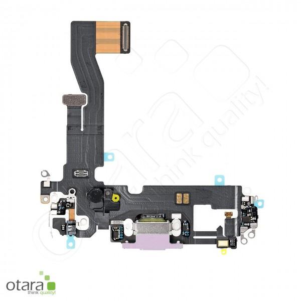 Lade Dock Connector Flex geeignet für iPhone 12 (Ori/pulled Qualität), violett