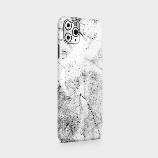 "GREEN MNKY Backcover Skin Smartphone 7"" (Struktur Serie) ""Grey White Marble"" [3 Stück]"