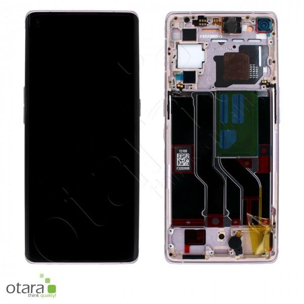 Displayeinheit OPPO FIND X3 NEO, RENO5 Pro, glactic silver, Serviceware