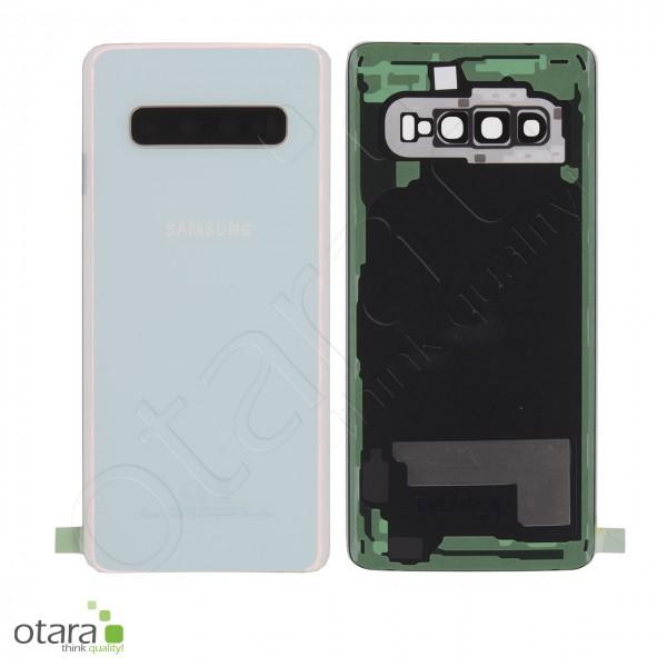 Akkudeckel Samsung Galaxy S10 (G973F), Prism White, Serviceware