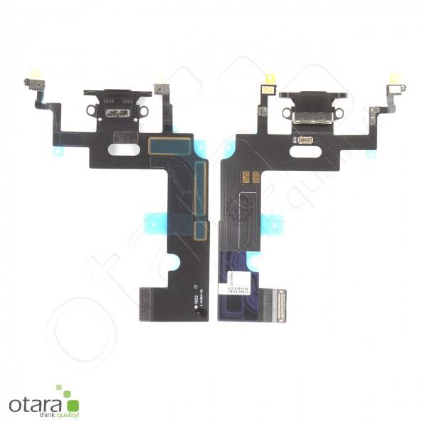 Lade Konnektor Flexkabel geeignet für iPhone XR (Ori/pulled Qualität), schwarz