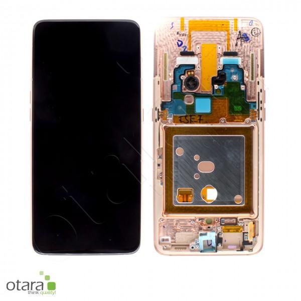 Displayeinheit Samsung Galaxy A80 (A805F), angel gold, Serviceware