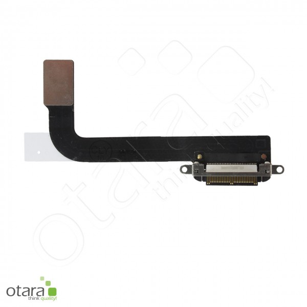Lade Dock Connector Flex geeignet für iPad 3 (2012) A1416 A1430 A1403, schwarz