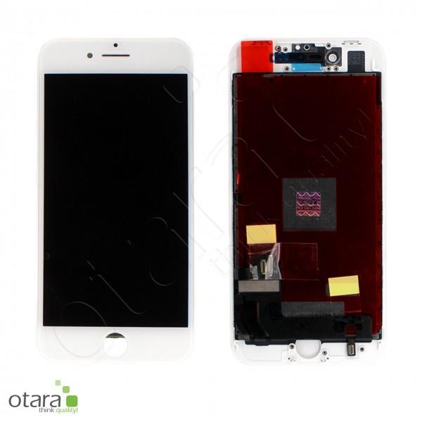Displayeinheit geeignet für iPhone 8 (refurbished), weiß