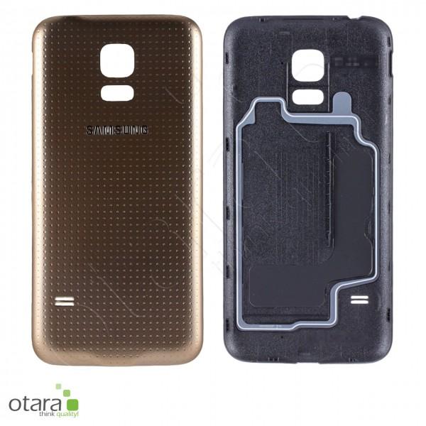 Akkudeckel Samsung Galaxy S5 mini (G800F), gold, Serviceware