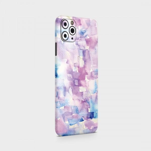"GREEN MNKY Backcover Skin Smartphone 7"" (Struktur Serie) ""Blue Violet"" [3 Stück]"