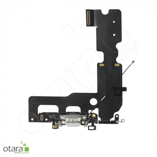 Lade Dock Connector Mikrofon Flex geeignet für iPhone 7 Plus (Ori/pulled Qualität), weiß