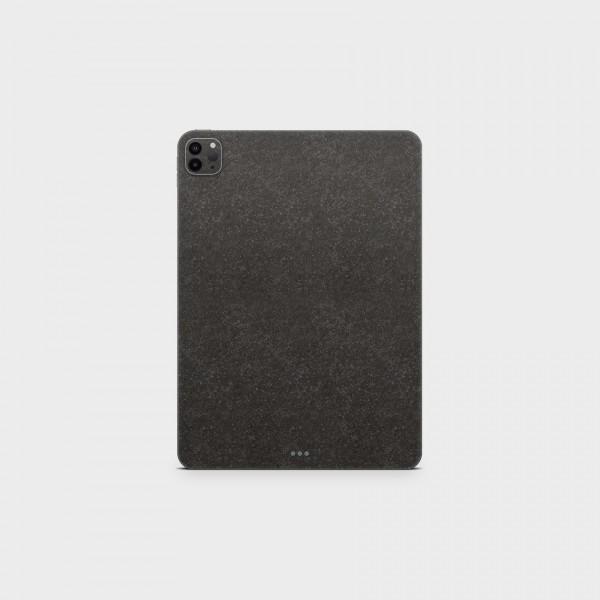 """GREEN MNKY Backcover Skin Tablet 11"""" (Struktur Serie) """"Natursteinoptik Anthrazit"""" [3 Stück]"""