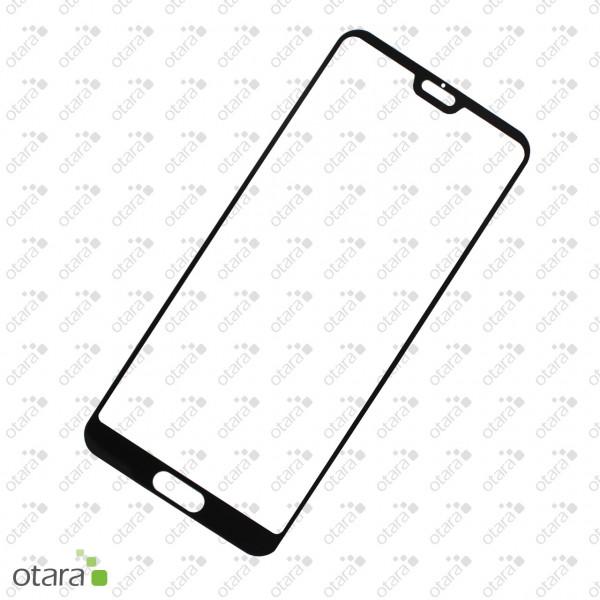 Schutzglas Edge to Edge (full glue) für Huawei P20 Pro, schwarz (ohne Verpackung)
