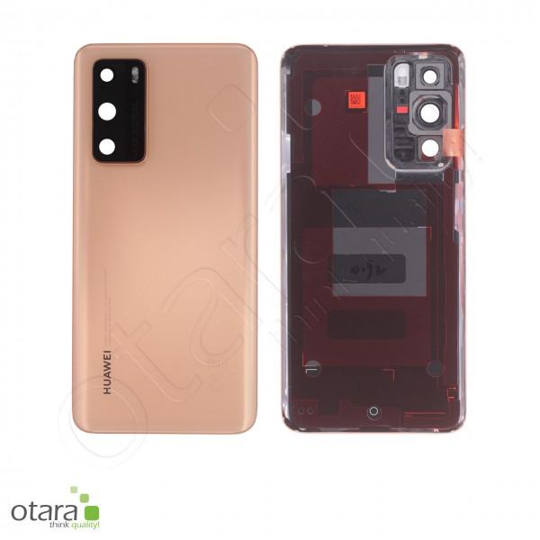 Akkudeckel Huawei P40, blush gold, Serviceware