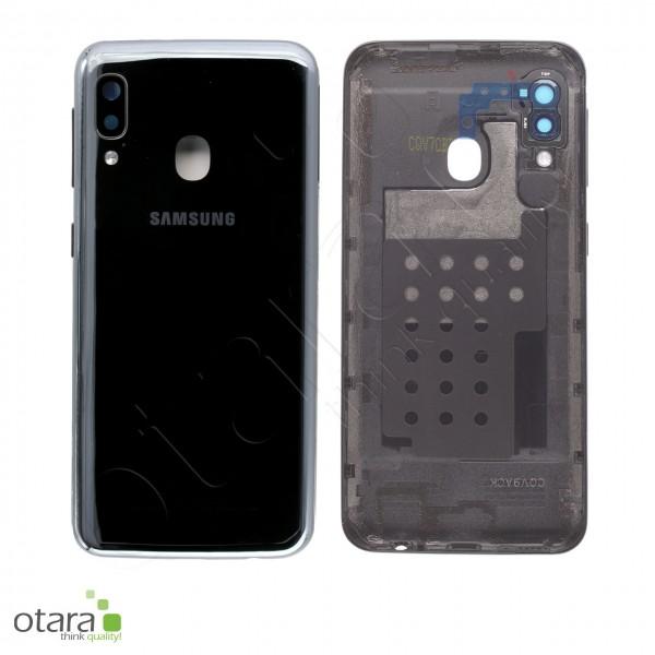 Akkudeckel Samsung Galaxy A20e (A202F), black, Serviceware