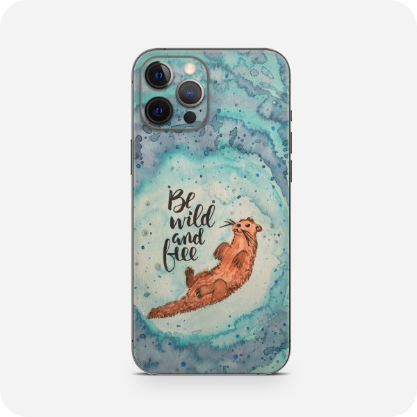 "GREEN MNKY Backcover Skin Smartphone 7"" (Diana Grimm Kollektion) ""Be wild and free"" [3 Stück]"