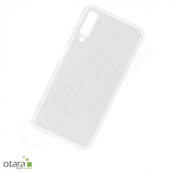 Silikoncase/Schutzhülle für Samsung Galaxy A7 2018, transparent