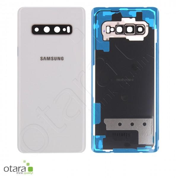 Akkudeckel Samsung Galaxy S10 Plus (G975F), Ceramic White, Serviceware