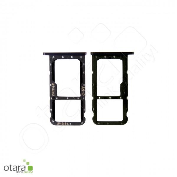 Huawei P20 Lite SIM Tray Dual, midnight black, Serviceware