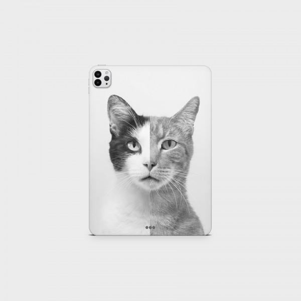 "GREEN MNKY Backcover Skin Tablet 11"" (Design Serie) ""Cats Love"" [3 Stück]"