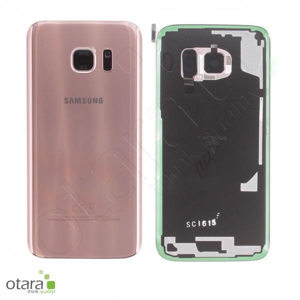 Akkudeckel Samsung Galaxy S7 (G930F), rose gold, Serviceware