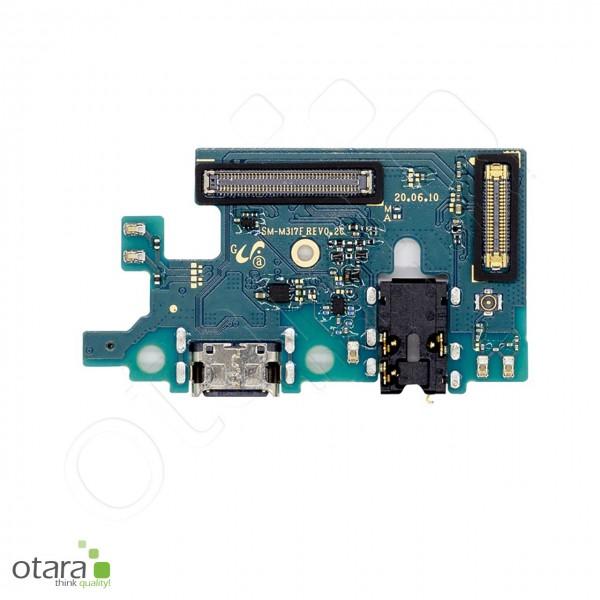 Samsung Galaxy M31s (M317F) Ladebuchse Platine USB-C, Mikrofon, Audio Jack (kompatibel)