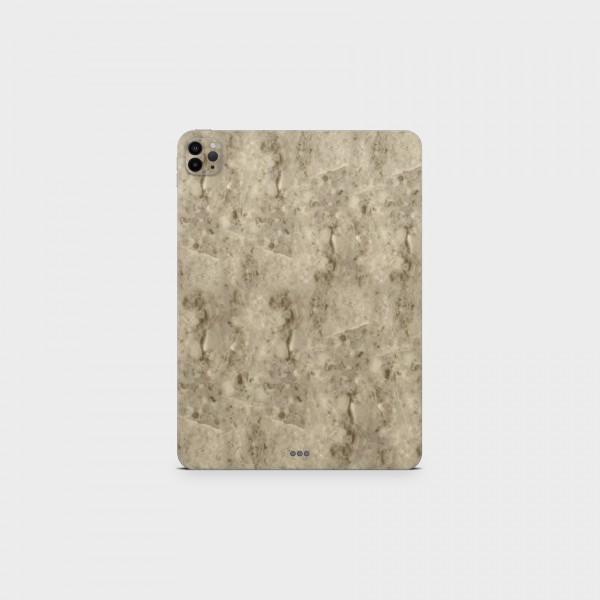 "GREEN MNKY Backcover Skin Tablet 11"" (Struktur Serie) ""Marmoroptik Beige"" [3 Stück]"